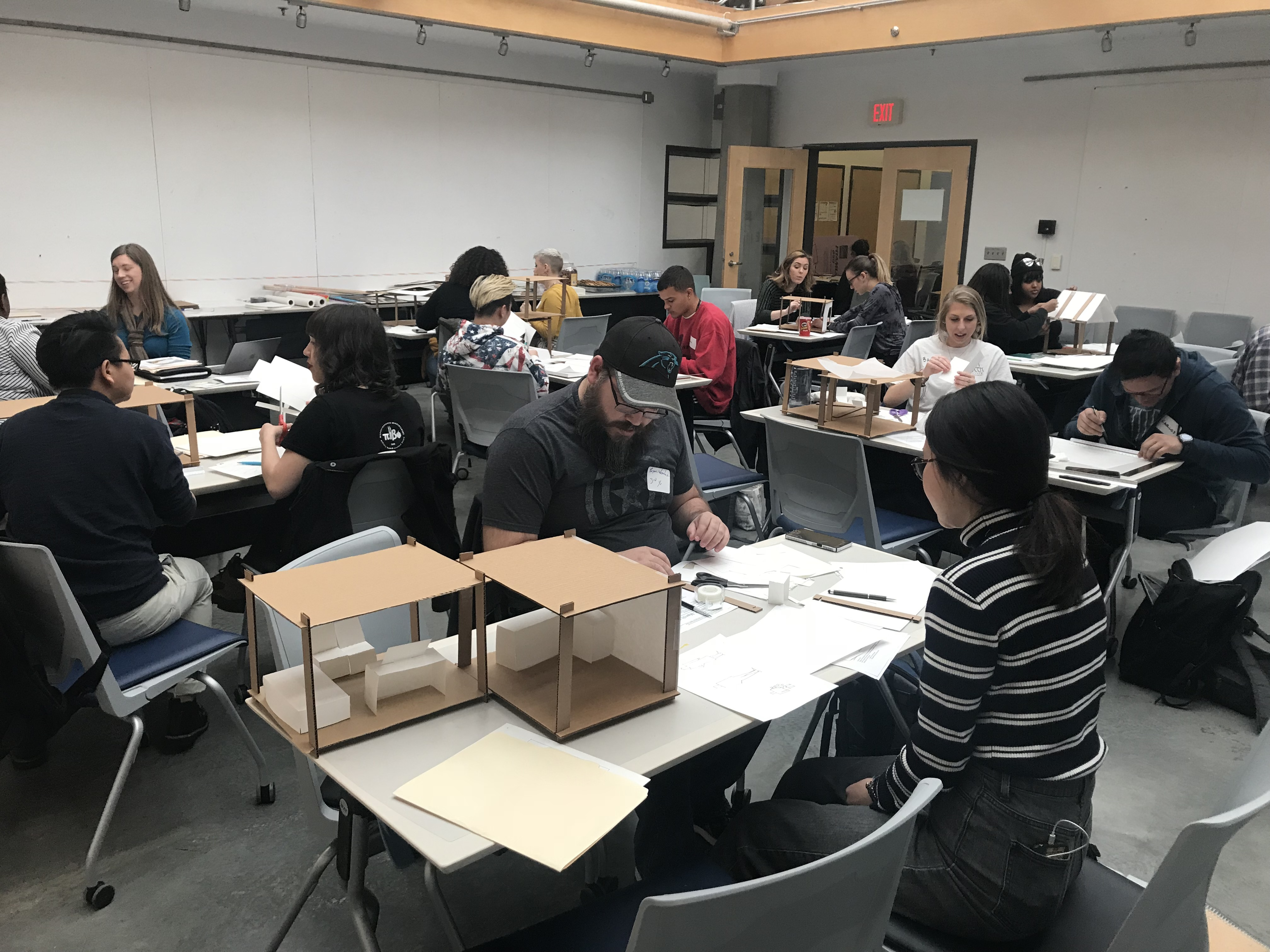 Tiny House Workshop At Unc Greensboro Design Resources For Homelessness